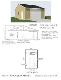 2 Story Garage Plans With Apartments 2 Story Garage With Second Story Apartment Or Space Under 20 Ft
