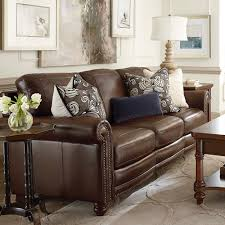 Living Room Ideas With Leather Sofa Midcentury Style Light Brown Leather Sofa Decorating Ideas Vig
