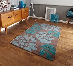 home decor floor rug contemporary flower design 100 quality