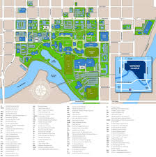 Spokane Usa Map by Gonzaga University Campus Map