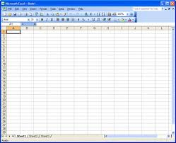 blank preadsheet figure 3 compared to a similar blank spreadsheet