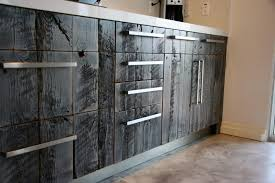 Reclaimed Kitchen Cabinet Doors Discontinued Kitchen Cabinets Barnwood Cabinet Company Reclaimed