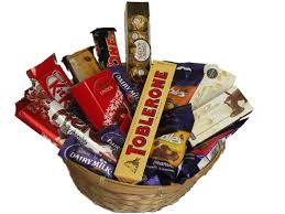 chocolate gift baskets chocolate indulgence gift henry williams florist cape town