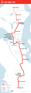 seatac light rail station list of link light rail stations wikipedia