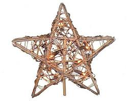 willow lighted tree topper 9 5 farmhouse