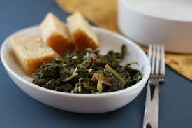 mustard greens with ham recipe