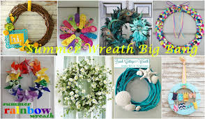 summer wreath summer wreath ideas big pandahall jewelry