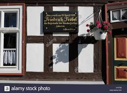 founder house oberweissbach germany 19th aug 2017 friedrich froebel u0027s birth