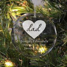 memorial christmas ornaments remembering a parent ornament memorial ornaments dads and ornament