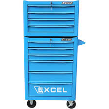 Rolling Tool Cabinets Excel Hardware 10 Drawer Rolling Tool Box Combo Products