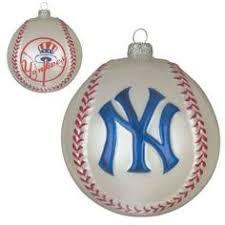 new york yankees knit stocking ornament ny sports teams tree