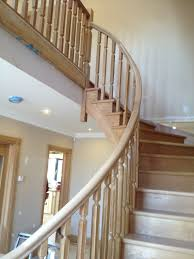 Curved Handrail Stairs U2013 Welcome To Ryans U2013 Cut Above Carpenters