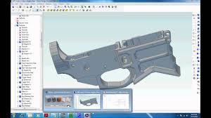 Custom Home 3d Design Software by Software For Designing And Milling An Ar 15 Lower From Scratch