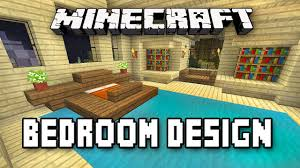 Minecraft Bedroom Furniture Real Life by Minecraft Tutorial How To Build A House Part 9 Master Bedroom