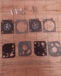 zama c1u carburetor repair kit compatible with ryobi 768r 775r