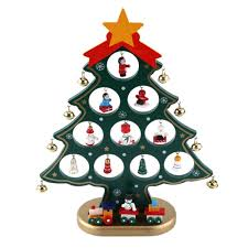 decor ideas 55 wooden christmas tree and jingle bells