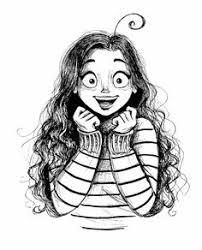 resultado de imagen de chica con lentes dibujo u2022draws and