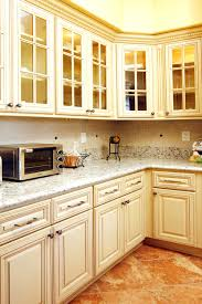 Glass Doors Cabinets by Oak Kitchen Cabinets With Glass Doors Kitchen Cabinet Knobs