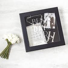 wedding wishes keepsake shadow box cathy s concepts best day wedding wishes keepsake