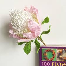 home decoration flowers protea flower bookmark paper flower decoration wedding bouquet