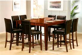 furniture good looking pub dining room table langley for style
