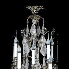 Antique Rock Crystal Chandelier D U0026d Antiques Gallery A Exquisite Antique French Louis Xv