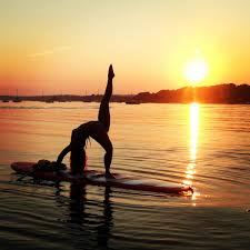 sunset sup fun at sand dollar cove in manchester by the sea new