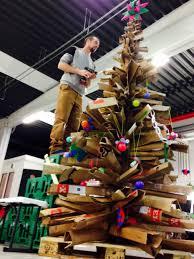 cardboard christmas tree cardboard christmas tree dambo