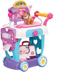 disney junior doc mcstuffins toy hospital care cart toys