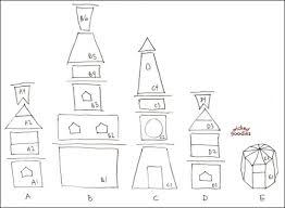 pattern for large gingerbread house gingerbread house paper templates