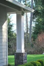 Front Porch Column Covers by Articles With Front Porch Posts Repair Tag Outstanding Front