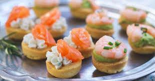 canap ap itif dinatoire bouchées apéritives saumon fromage ou crevette avocat recette par