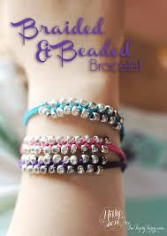 bead braid bracelet images Braided beaded bracelet ashlee marie real fun with real food png