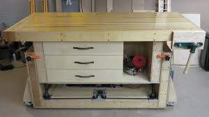 the ultimate modern woodworking workbench youtube