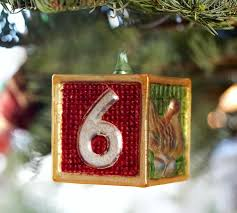 twelve days of ornament set pottery barn