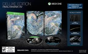 final fantasy final fantasy xv deluxe edition playstation 4 playstation 4