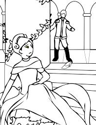 cinderella color pages cinderella coloring page handipoints