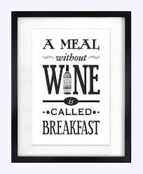 Gifts For The Kitchen Wine Print Kitchen Poster Black Friday Cyber Monday Gift For