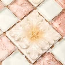 Wholesale Mosaic Tile Crystal Glass Backsplash Bedroom Design - Cheap mosaic tile backsplash