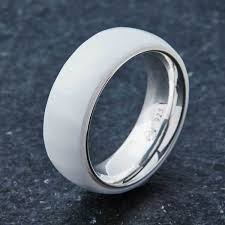 ceramic rings white images Embr black tungsten ring wood ring box jpg