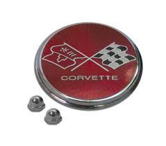 76 corvette parts 75 76 corvette fuel door emblem trim parts