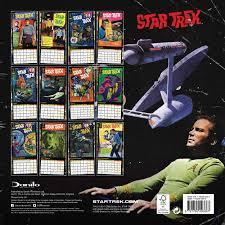 star trek calendar 2018 calendar club uk