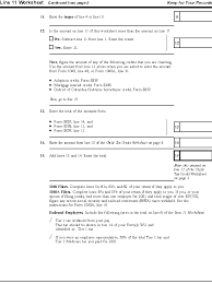 publication 972 child tax credit child tax credit worksheet