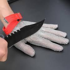 gant de protection cuisine anti coupure gant 5 doigts anti coupure en acier inoxydable 304l sécurité