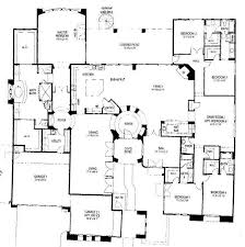 single level floor plans 4 bedroom single story house plans adhome