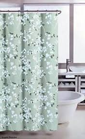 Amazon Com Shower Curtains - mainstays 13pc fabric shower curtain and decorative hooks set