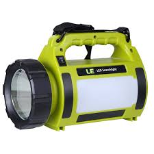 10w rechargeable led spotlight waterproof ipx4 cing lights le