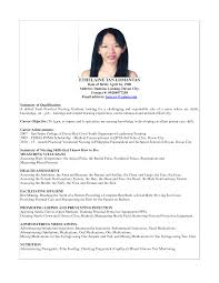 Nursing Jobs Resume Format by 100 Resume Template Nurse Sample Of Cover Letter Cover