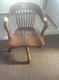 find more great antique office chair on casters in great shape
