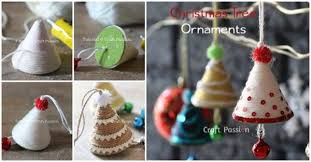 creative ideas diy adorable tree ornaments with yarn